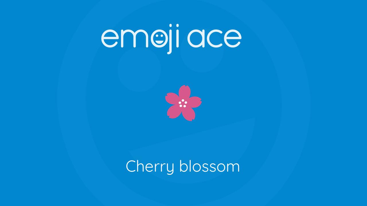 Cherry Blossom Emoji Ace 800 x 800 jpeg 76 кб. cherry blossom emoji ace